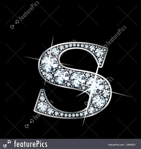 illustration  diamond letter