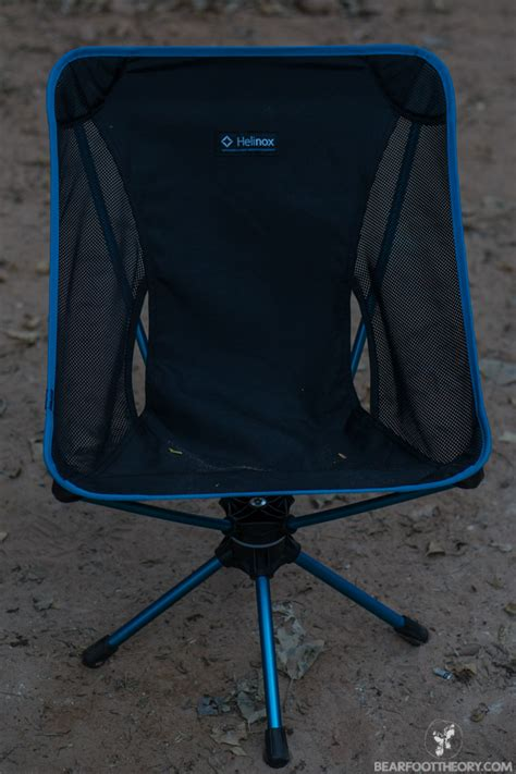 Big Agnes Helinox Ground Chair by Cing In Comfort With The Big Agnes Helinox Swivel Chair
