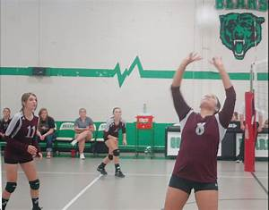 VOLLEYBALL: Lady Panthers take care of Lady Bears – Bowie News