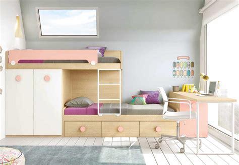 lit avec bureau lit superposé avec bureau pour la chambre enfant