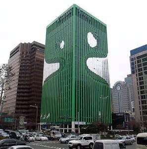 Seoul South Korea Buildings