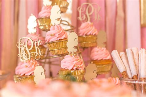 pink and gold birthday themes pink and gold princess 3rd birthday pizzazzerie