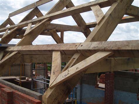 Timber Roof Frames  Oak Timber Framing & Carpentry In France