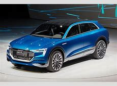Audi Q6 Electric SUV to Be Built in Belgium from 2018