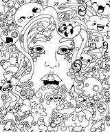 Coloring Mushroom Pages Cute Getcolorings Extraordinary sketch template