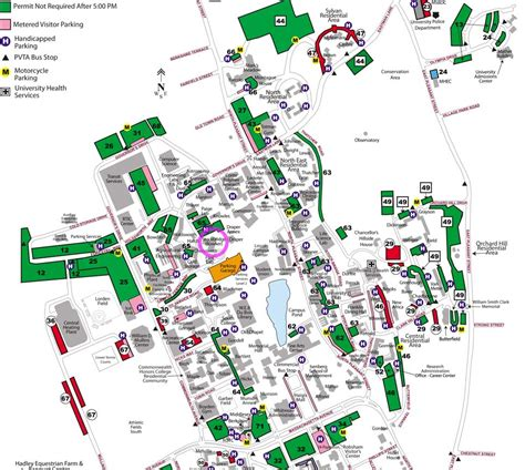 Umass Amherst Parking Garage uncategorized