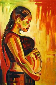 African American Woman Art Paintings