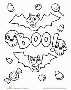Cute Halloween Coloring Pages | Education.com