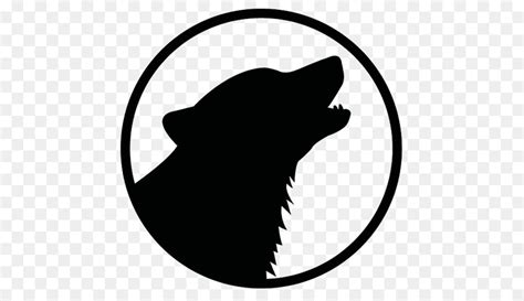 Gray Wolf Logo Black Wolf Clip Art
