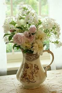 1000 Images About Pitchers With Flowers On Pinterest