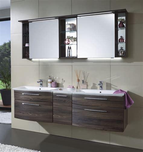 Badezimmer Spiegelschrank Doppelwaschbecken by Badm 246 Bel Mit Doppelwaschbecken Icnib