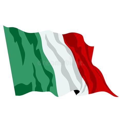 italian flag vector illustration stock italian flag illustartion stock vector illustration of ital