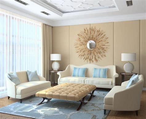 ideen fuer moderne wohnzimmer einrichtung  neutralen
