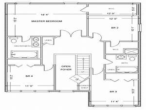 Simple Small House Floor Plans Free House Floor Plan