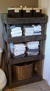 Using Old Pallets for Bathroom Pallet Wood Projects