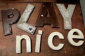 found in ithaca metal marquee letters sold With how to make metal marquee letters