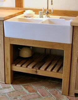 Freestanding Kitchen Oak Sink Unit  Jídelna,kuchyn