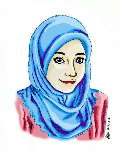 hijab st draw  moonhours  deviantart