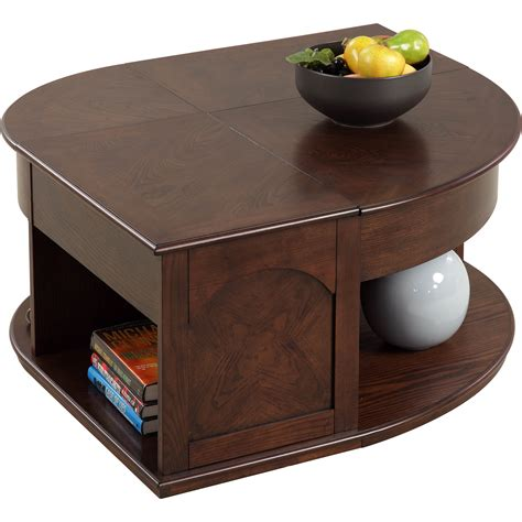 The lift top coffee table is a spacious table that will qualify all these requirements. Darby Home Co Wilhoite Coffee Table with Double Lift Top & Reviews   Wayfair