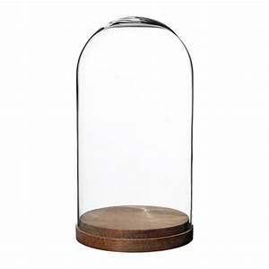 HÄRLIGA Glass dome with base - IKEA
