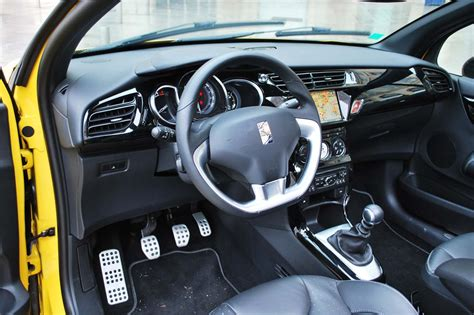 photo ds3 cabrio sport chic interieur