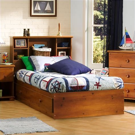 twin bookcase storage bed south shore sand castle twin bookcase storage bed set ebay