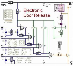 Circuit Diagram For A Keypad