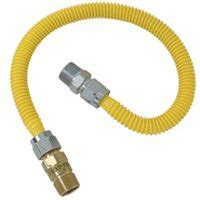 Correct type of natural gas hose to drop in bbq grill