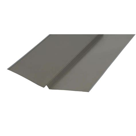 amerimax home products 20 in 10 ft galvanized bronze w