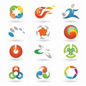 Variety of vector graphics logo Free Vector / 4Vector