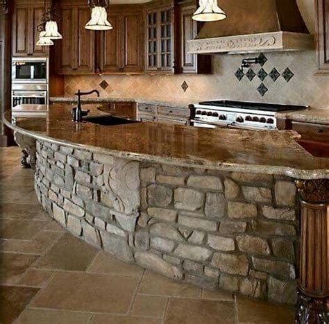 beautiful rock island in the grand kitchen would want