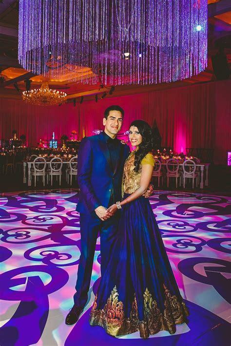 avni abhishek indian wedding reception think