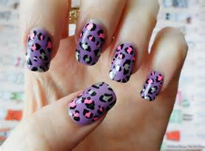 Leopard print nail polish ideas