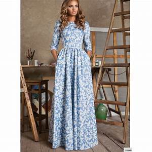 top robes blog robe longue imprimee fleurs With affiche chambre bébé avec robe fleurie manches longues