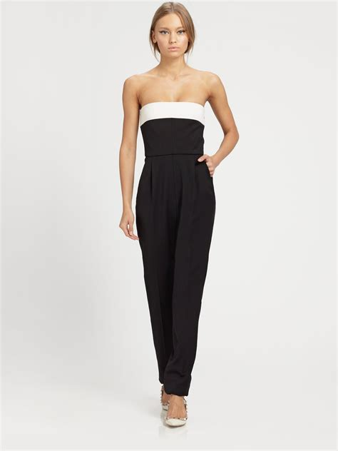 strapless jumpsuit strapless jumpsuit black trendy clothes