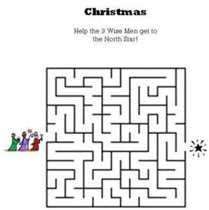 Christmas Printable Bible Mazes for Kids