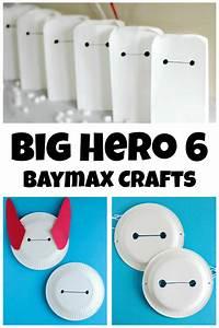 Big Hero 6 Baymax Crafts Make and Takes