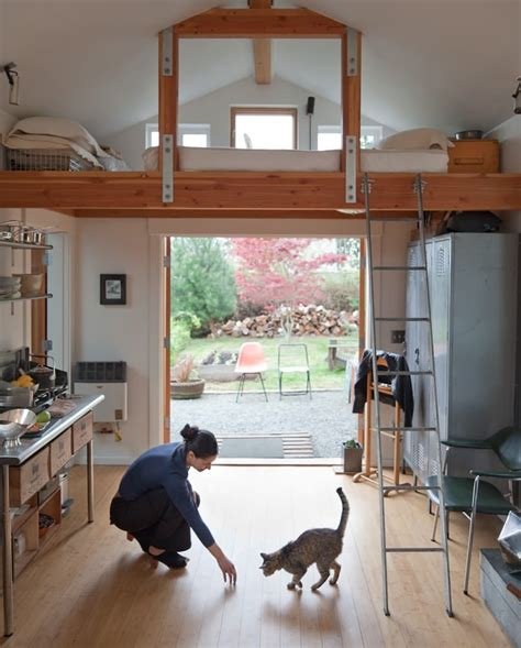 garages converted into homes garage conversion into tiny house michelle de la vega small house bliss