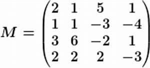 Determinante 4x4 Matrix Berechnen : gau sches eliminationsverfahren zur berechnung der determinanten einer 4x4 matrix ~ Themetempest.com Abrechnung