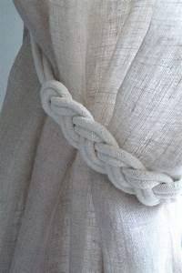 Embrasse Rideau Originale : embrasses rideau tress es jolies embrasses de rideaux d co pinterest ps ~ Teatrodelosmanantiales.com Idées de Décoration
