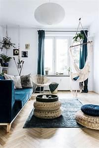 Deco Bleu Petrole : d co salon bleu pour une ambiance l gante et sereine ~ Farleysfitness.com Idées de Décoration