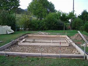piscine hors sol le blog de jo quotgeoffroyquot With faire une dalle pour piscine