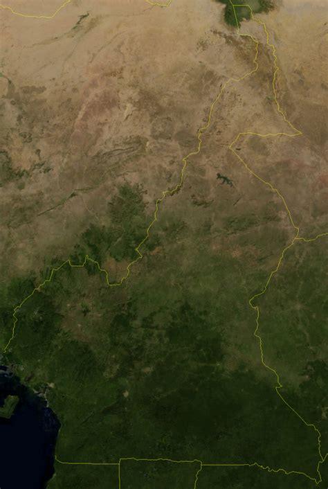 Ģeogrāfiskā karte - Kamerūna - 1,296 x 1,933 Pikselis - 2 ...