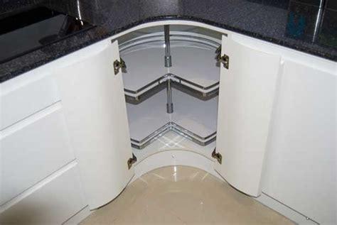 kitchen cabinet carousel corner how to maximise kitchen space utilisation diy kitchens 5175