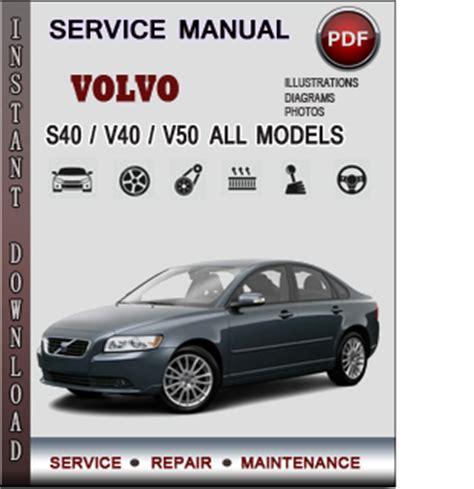 volvo svv service repair manual  info