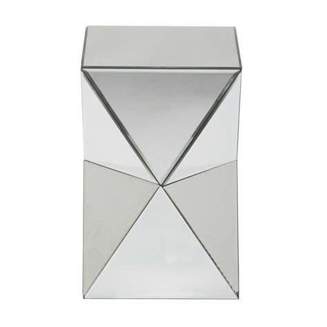 beau canape bout de canapé miroir l 33 cm diamant maisons du monde