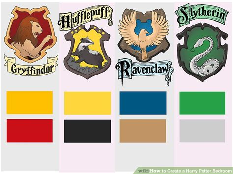gryffindor colors how to create a harry potter bedroom 12 steps with pictures