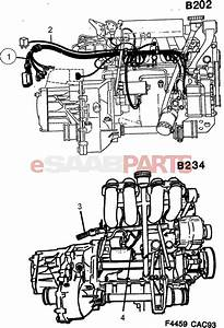 4352076  Saab Cable Harness
