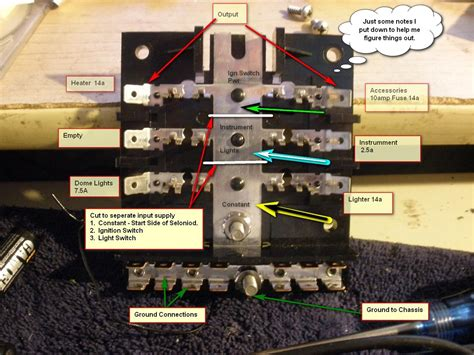 68 Mustang Fuse Box by 1965 Coupe At 289 Replace Fuse Panel W Blade Type Fuse