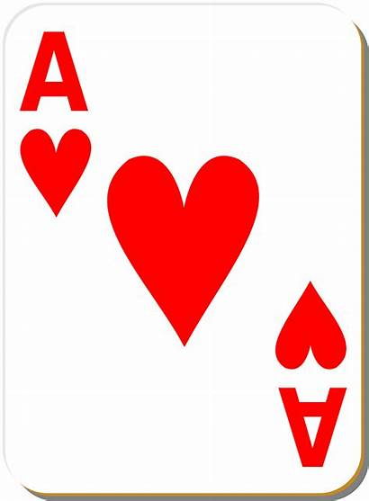 Playing Clipart Cards Card Individual Ace Hearts